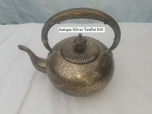 Antique Silver TeaPot $40 for Sale in Dresden, OH