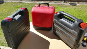 Various portable tool cases for Sale in Goodyear, AZ