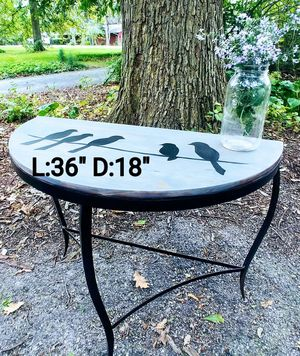 """Birds on a Wire"" Console Table for Sale in Carol Stream, IL"