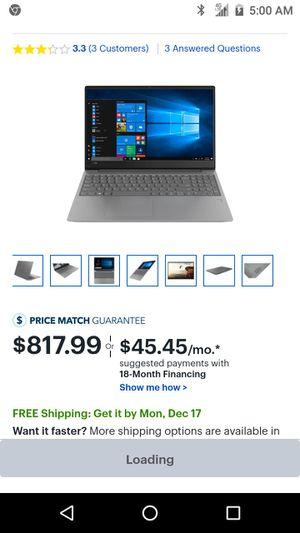 Lenova IdeaPad 330S-$499 for Sale in Oakland, CA
