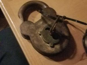 Antique mickey mouse pad lock for Sale in Queen Creek, AZ