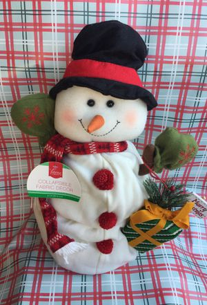 Christmas collapsible Snowman for Sale in Baldwin Park, CA