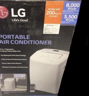 Air conditioner Lg 8,000 BTU Portable 110V 200 Sq. Ft LP0817WSR aire acondicionado for Sale in Hialeah Gardens, FL