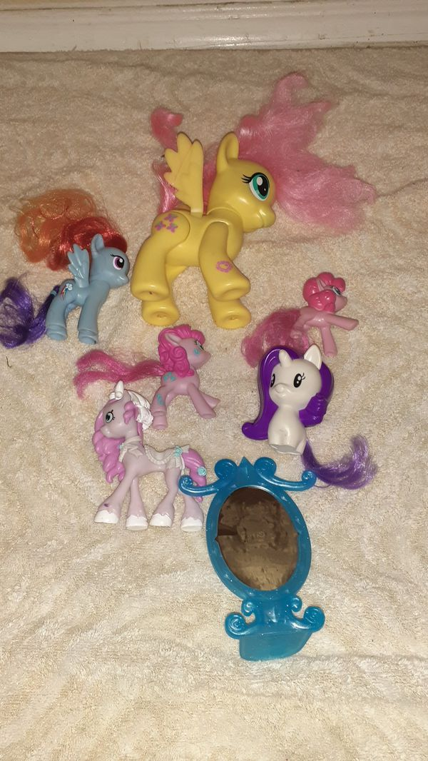 My little pony toys all for .50 each all for $3 selling together