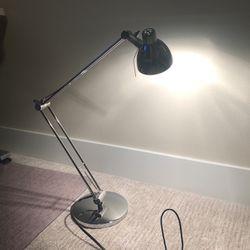 Desk Work Lamp, Ikea Antifoni Nickel Plated for Sale in Kenmore,  WA