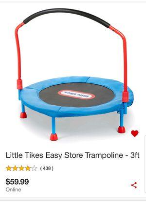 Little tikes trampoline. New in box. 40 Firm for Sale in Glendale, AZ