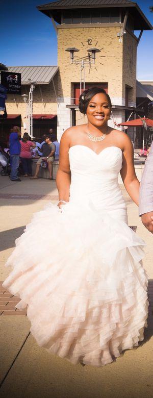 Blush Pink Ombré Wedding Dress for Sale in Durham, NC