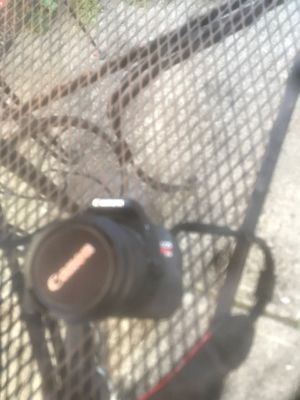 Canon camera rebel t3i with case and lenses for Sale in Hayward, CA