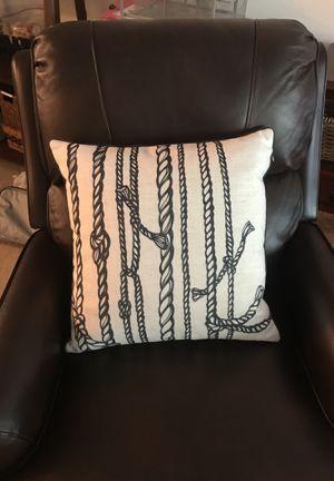 Nautical Decorative Pillow for Sale in Santa Ana, CA