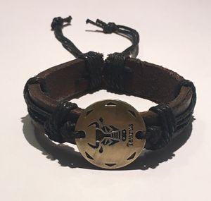 Taurus Zodiac Leather Bracelet for Sale in Lester, WV
