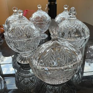 Hand Crafted Glass Storage Bowls for Sale in Portland, OR