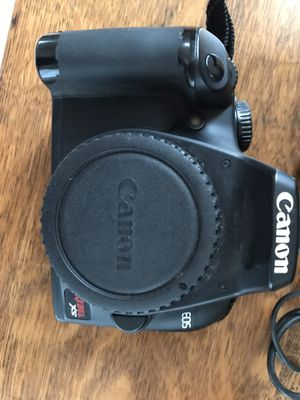 Cannon EOS camera with 18-55 lens, camera for parts or to be fixed for Sale in Riverview, FL