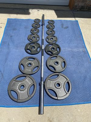 Olympic weight set for Sale in Des Moines, WA