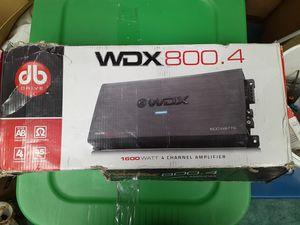 DB 1600 watt 4 channel amp for Sale in Modesto, CA