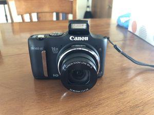 Canon Powershot SX160IS 16 mp Digital Camera for Sale in West Jordan, UT