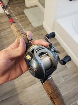 Pinnacle vision Spyder with Bps tourney special rod for Sale in Queen Creek, AZ