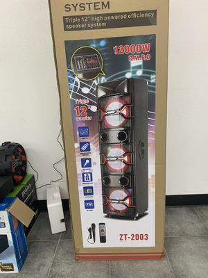 Professional Speaker System for Sale in Wimauma, FL