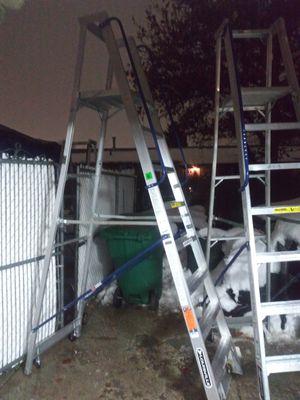 (2) Louisville platform ladders for Sale in Kearns, UT