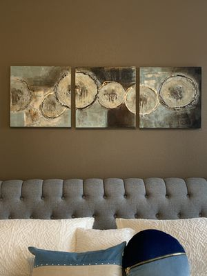 """Set of three painted picture !!! 3- 20"""" x 20"""" for Sale in Vancouver, WA"""