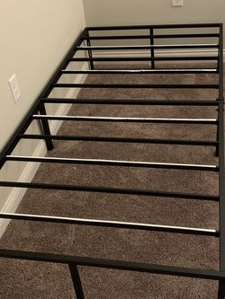 Twin XL Casper Mattress And Metal Bed Frame for Sale in Columbus,  OH