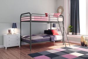 Brand New DHP Metal Twin over Twin Bunk Bed Frame for Sale in Sacramento, CA