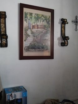 Picture And 2 Sconces for Sale in Corpus Christi,  TX