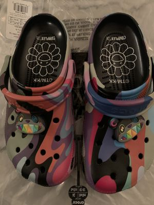 Takashi Murakami Crocs Size 6 - Complexcon Exclusive for Sale in Beverly Hills, CA