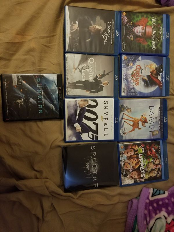$5 BLURAYS MOVIES. READ INFO PLEASE!