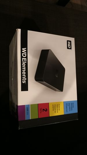 Western Digital 2tb external hard drive for Sale in Bothell, WA