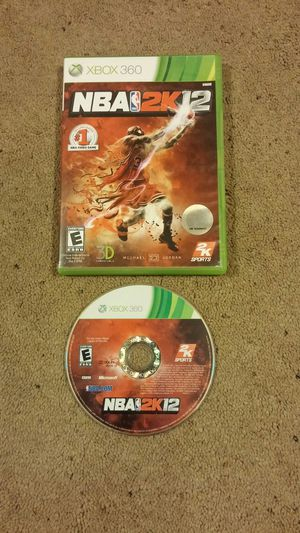 NBA 2K 12 xbox 360 game for Sale in Pittsburgh, PA