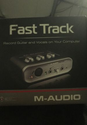 M audio music interface for Sale in Tucson, AZ
