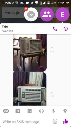 2 room size air conditioner for Sale in East Saint Louis, IL