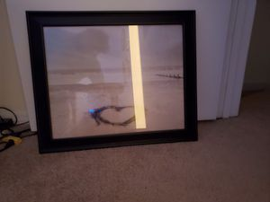 Ocean picture and frame for Sale in Raleigh, NC
