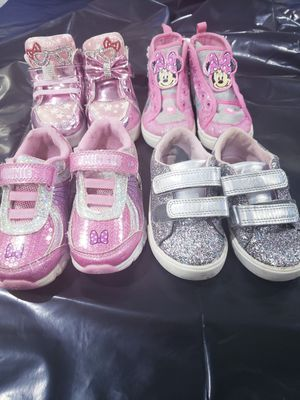 Girl toddler sneakers. Size 7 for Sale in Alexandria, VA