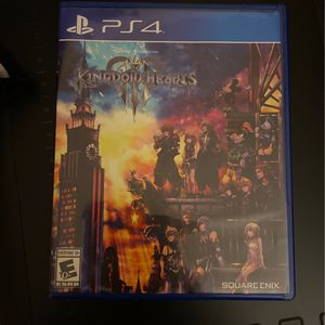 Kingdom Hearts 3 Ps4 for Sale in Los Angeles, CA