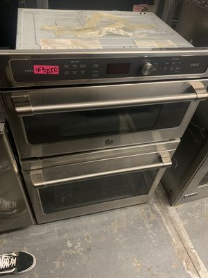 Ge cafe microwave oven combo 30 wide stainless steel 2019 for Sale in Santa Ana, CA
