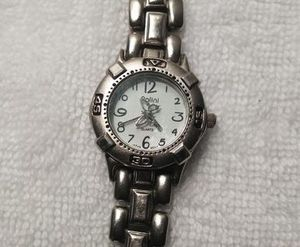POLINI Ladies Wrist Watch Silvertone With Butterfly Hand for Sale in Wichita, KS