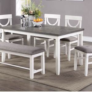 6 Pcs Dining Table Set for Sale in Hacienda Heights, CA