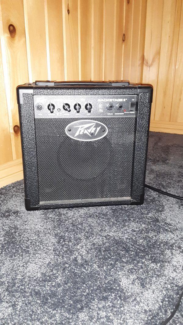 Renvey back stage amplifier