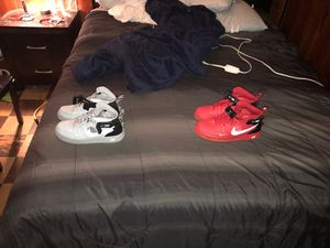 Size 8/5 air forces for Sale in Temple Hills, MD