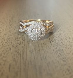 Diamond Gold Ring and Cross for Sale in Fitchburg,  MA