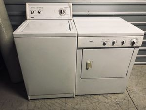 👕👚 KENMORE WASHER AND DRYER SET for Sale in Los Angeles, CA