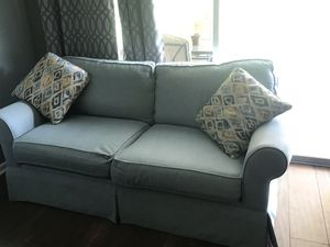 2 piece sofa set with pillows for Sale in Winter Haven, FL