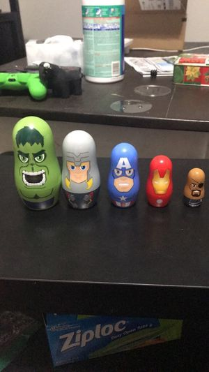 Marvel Nesting Dolls for Sale in Dallas, TX