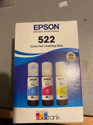 Epson 522 eco tank printer ink for Sale in Newcastle, WA