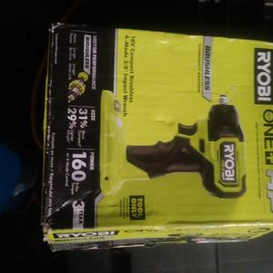 Ryobi Impact Wrench for Sale in Federal Way, WA