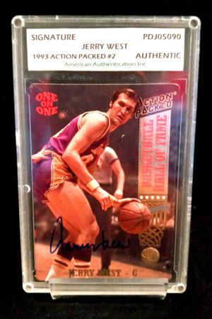 Basketball cards - Jerry West Autograph for Sale in Hemet, CA