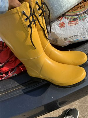 ✨ New Yellow Rain Boots ✨ for Sale in San Bernardino, CA