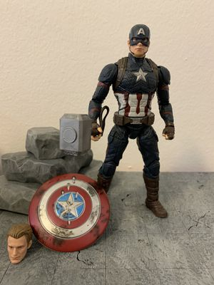 Marvel Legends Worthy Captain America for Sale in Whittier, CA