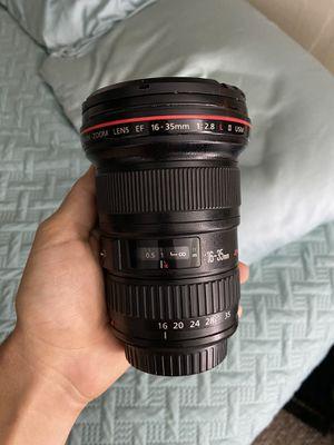 Canon 16-35 f/2.8 II for Sale in Santa Monica, CA